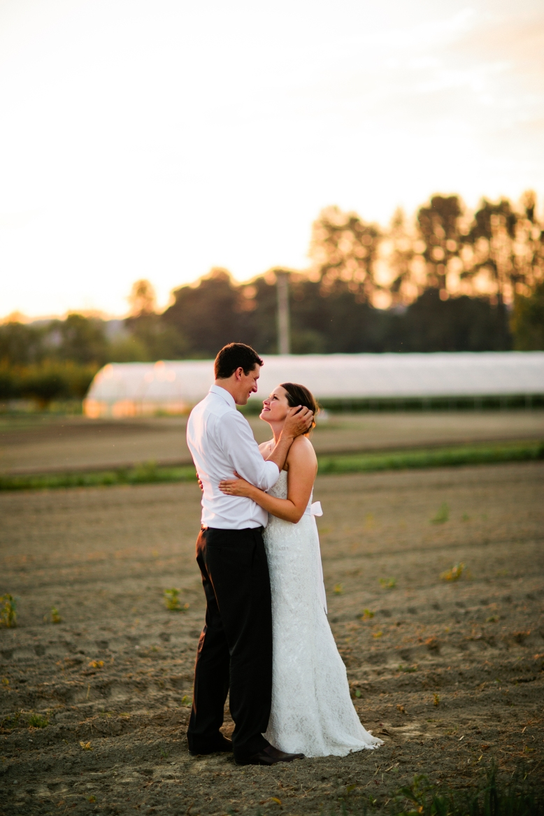 Snohomish County Washington Wedding Venue Monroe Outdoor Farm Barn Organic Produce Rustic Chic Offbeat Classic