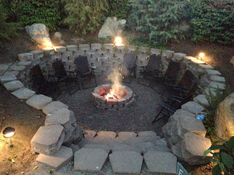 The Fields Snohomish Wedding Venue Farm Rustic Elegant Fire Pit